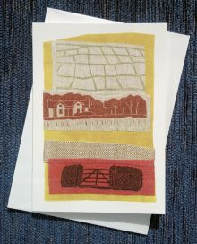Home Again Greetings Card by Gail Kelly