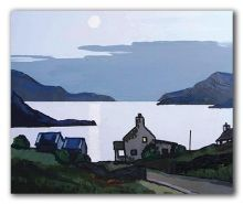 Eventide across the Bay - David Barnes