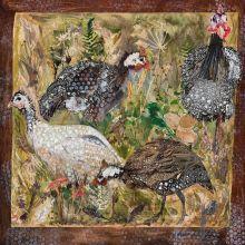 Guinea Fowl By Clare O'Neill Artworks