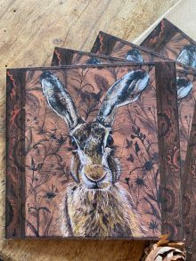 Brown Hare By Clare O'Neill Artworks