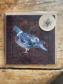 Wood pigeon By Clare O'Neill Artworks