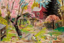 The Cherry Tree by Julian Trevelyan