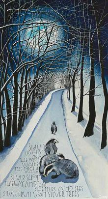 Silver Shoon Art Card By Sam Cannon