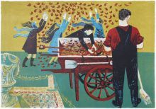In the Park Lithograph by Robert Tavener