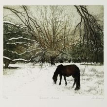 Quiet Hours by Jo Barry Art Greeting Card