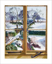 The Garden Under Snow by John Nash