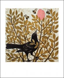 Hunt and Gather  Woodcut by Kent Ambler