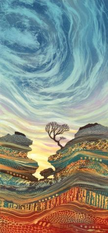 Keep Me Hanging On greetings card By Rebecca Vincent