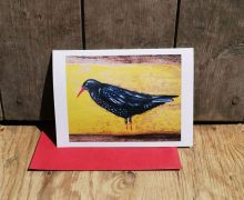 Lillith the Chough By Liz Toole