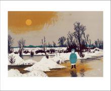 Winter Landscape, 1962 by Lynton Lamb