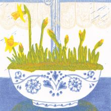 Potted Spring Joy by Heather Ramskill