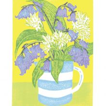 Bluebells and Ramsons by Heather Ramskill