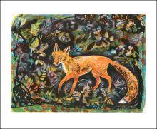 Autumn Fox  by Mark Hearld