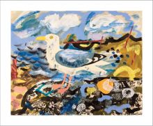 Herring Gull by Mark Hearld