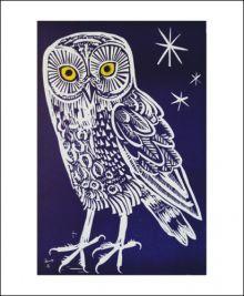 Little Owl  by Mark Hearld