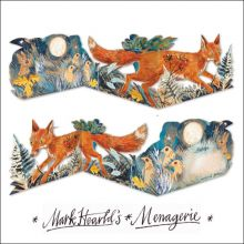 Fox collage by Mark Hearld