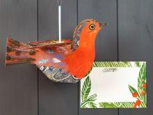 Flying Robin by Mark Hearld