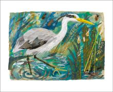 Heron Collage by Mark Hearld