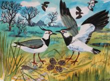 Lapwings Nest by Mark Hearld