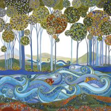 The Lake - Melissa Launay Fine Art Greetings Cards