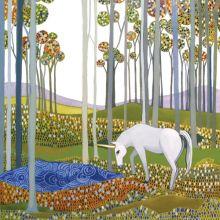The Unicorn - Melissa Launay Fine Art Greetings Cards