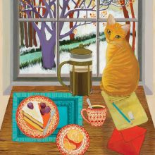 A Welcome Visitorby Melissa Launay