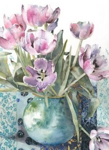 Mother's Day Tulips By Vivienne Cawson