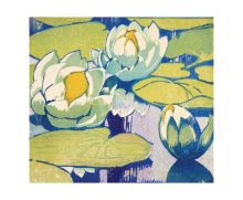 Water Lilies - National Galleries Of Scotland Art Greeting Card