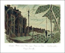 Where there  Tea,  there is Sea  Engraving by Neil Bousfield