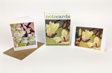 Magnolia & White Lilies woodcuts by Mabel Royds (1847 - 1941) Notecard pac