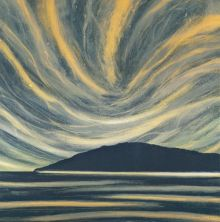 Northern Light Giclee print from original monotype