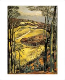Berkshire Downs, 1922 Paul Nash (1889-1946)
