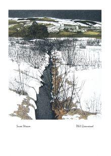 Snow Stream By Phil Greenwood