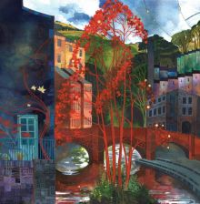 Red Leaves By Kate Lycett