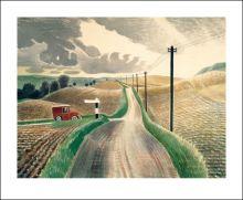 Wiltshire Landscape, 1937 Eric Ravilious (1903-1942)