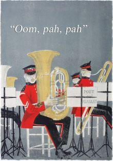 Oom pah pah Lithograph by Robert Tavener, c1957
