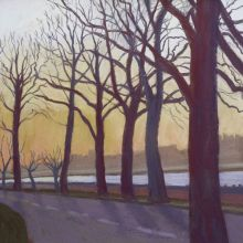 The Thames at Battersea by Sue Campion