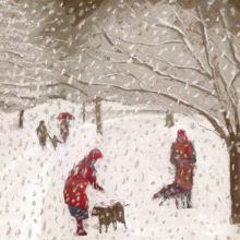 Walk in the Snowstorm by Sue Campion