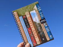 Notebook: Scotland in Books By Roo Waterhouse Art