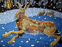 ANDREW HASLEN Winter Hare 3