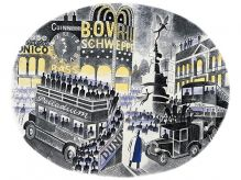 ERIC RAVILIOUS Boat Race Day1938