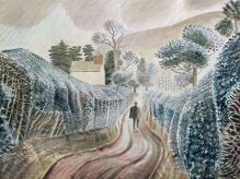 ERIC RAVILIOUS Wet Afternoon