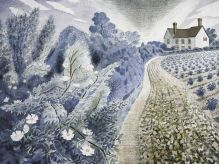 ERIC RAVILIOUS Farm House and Field