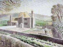 ERIC RAVILIOUS Shepherd's Cottage, Firle |1934