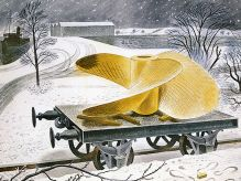 ERIC RAVILIOUS Ship's Screw on a Railway Truck|1940