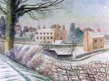 ERIC RAVILIOUS Vicarage in Winter|1935