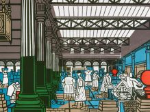 EDWARD BAWDEN Billingsgate Market 1967