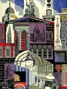 EDWARD BAWDEN The City 1952