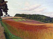 JOHN NORTHCOTE NASH Cornfield at Wiston-by-Nayland, Suffok |c. 1932