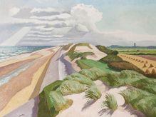 JOHN NORTHCOTE NASH Norfolk Coast (Waxham to Winterton)|1932
